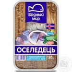 Vodniy Myr Soft-Salted Herring Fillets 180g