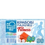 Vodnyi mir fitness chilled crab sticks 180g