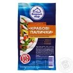 Vodnyi mir chilled crab sticks 240g