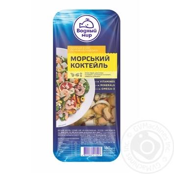Морський коктейль Водний Мир 180г Фiрмовый солений