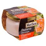 Паштет рибний MerSea з креветками 160г