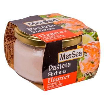 Паштет рыбный MerSea с креветками 160г - купить, цены на Novus - фото 1