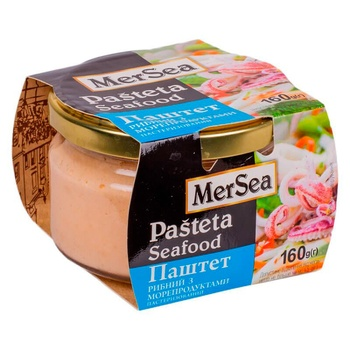 MerSea Fish Pate With Seafood 160g - buy, prices for EKO Market - photo 1