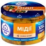 Vodnyi Mir Mussel Meat in Oil 250g