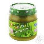 Puree Heinz broccoli canned for children from 4 months 80g glass jar