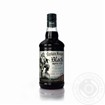 Captain Morgan Spiced Black Rum 40% 0,7l
