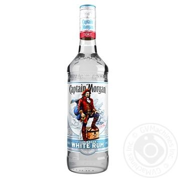 Ром Captain Morgan White 37,5% 1л