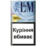 Цигарки L&M Loft Sea Blue 20шт