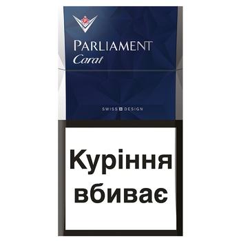 Сигареты Parliament carat blue - купить, цены на Novus - фото 1