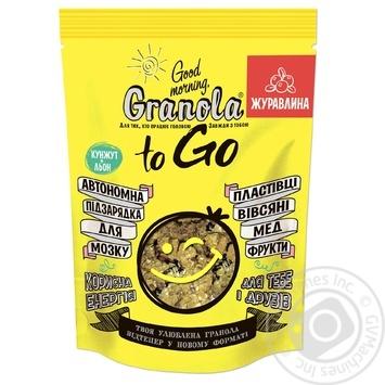 Завтрак Granola Good morning To Go с клюквой 140г - купить, цены на Novus - фото 1