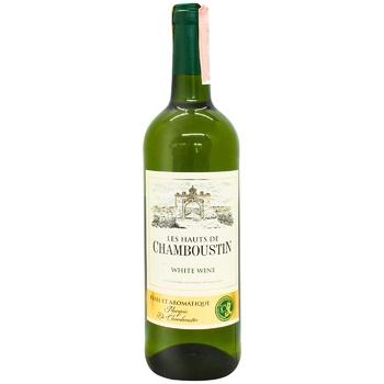 Вино Chamboustin белое полусухое 11% 0,75л