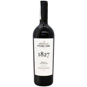 Вино Purcari Merlot de Purcari красное сухое 13% 0,75л