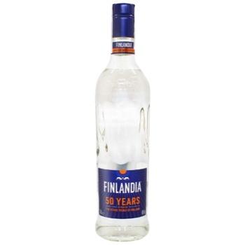 Водка Finlandia 40% 0,7л - купить, цены на Метро - фото 1