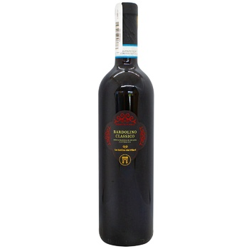 Вино Le Colline dei Filari Bardolino Classico красное сухое 12% 0,75л