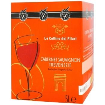 Вино Le Colline dei Filari Каберне Совиньон красное сухое 12% 5л