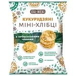 Міні-хлібці Екі-Некі кукурудзяні з прованськими травами 40г
