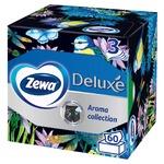 Салфетки бумажные Zewa Deluxe с ароматом трехслойные 60шт