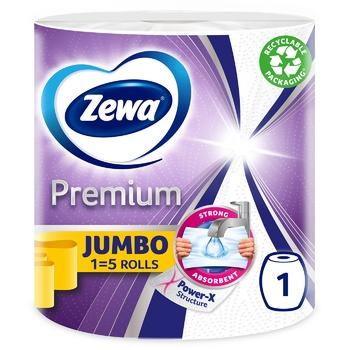Паперові рушники Zewa Klassik Jumbo 3 шари 1шт