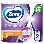 Рушники паперові Zewa Premium Extra Long 2шт