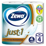 Zewa Just 1 4-layer toilet paper 4pcs