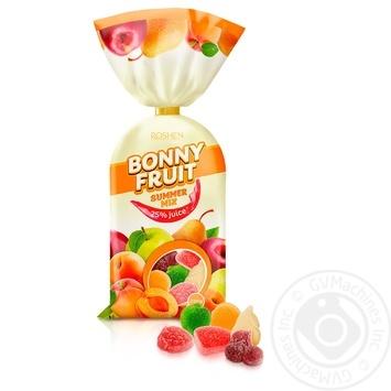 Цукерки желейні Roshen Bonny-Fruit літній мікс 200г - купити, ціни на Novus - фото 1