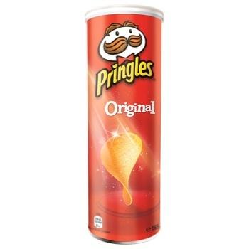 Чипсы Pringles Original 165г