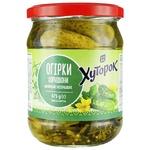 Hutorok Pickled Gherkins Cucumbers 475g