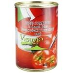Томати Fiamma різані в томатному соку 400г