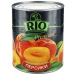 Персики Ріо половинки в сиропі 850мл Греція