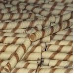 Трубочки вафельні Roshen з горіховим кремом ваг