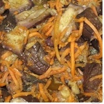 Салат з баклажанів ваг