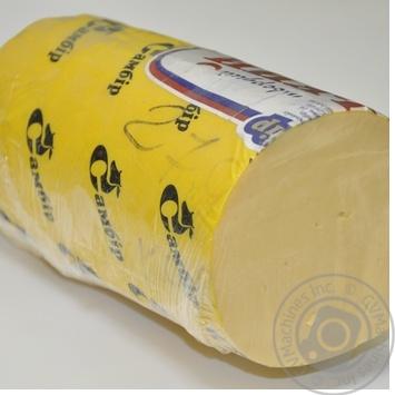 Сир сичужний твердий Естонський Самбір 45% ваг
