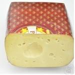 Сыр рамзес Шостка твердый 45% Украина
