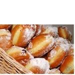 Пончик с джемом 70г Украина