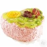 Торт Серце з фруктами ваг