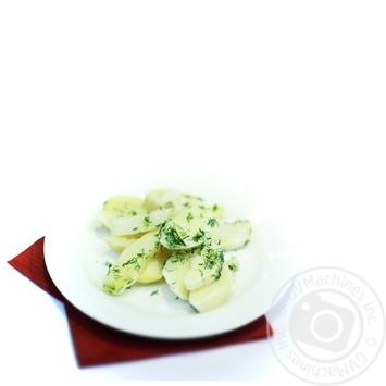Картофель вареный с маслом и зеленью