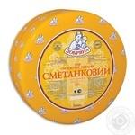 Сыр Добряна Сметанковый сычужный твердый 50% Украина