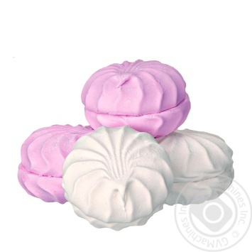 Зефир Жако бело-розовый