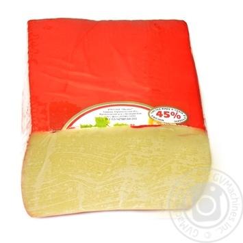 Сыр ЗАТ Молоко Гауда твердый 45% Украина - купить, цены на Novus - фото 2