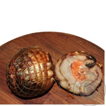 Рулет из филе рыбы горячего копчения охлажденный - купить, цены на Novus - фото 2