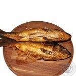 Hot smoked Carp with vegetable filling