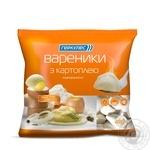Vareniki Hercules with potatol frozen 400g sachet