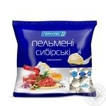 Meat dumplings Hercules Siberian with beef frozen 400g sachet