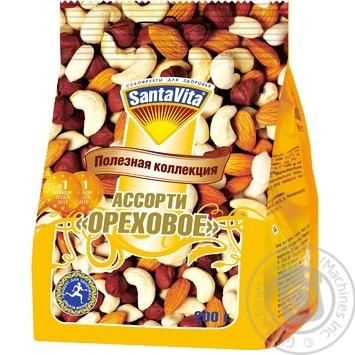 Ассорти Santavita ореховое 200г - купить, цены на МегаМаркет - фото 1