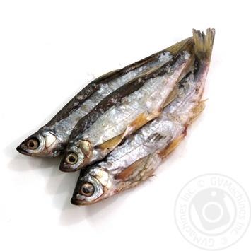 Fish common bleak sun dried