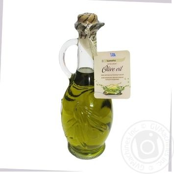 Олія оливкова нерафінована першого віджиму Kamarko 500 мл скляна пляшка - купить, цены на Novus - фото 3