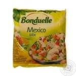 Смесь овощная Bonduelle Мексиканская для жарки с рисом и шампиньонами замороженная 400г