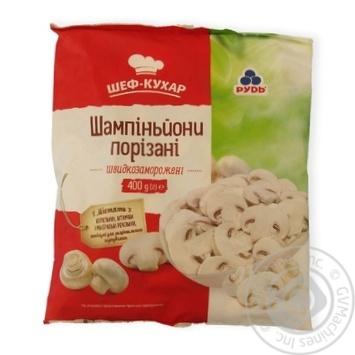 Rud frozen cut mushrooms 400g
