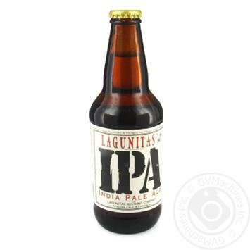 Пиво Lagunitas IPA India Pale Ale светлое 6.2% 355мл