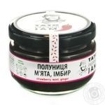 Jam Tato pepper jam strawberry mint 130g glass jar
